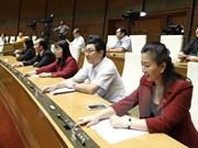 Parlamento vietnamita revisa enmiendas a la ley de comercio exterior