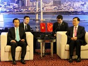 Presidente de Asamblea Popular Nacional de China visita ciudad central