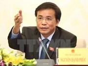 Cuatro ministros comparecerán ante Parlamento de Vietnam