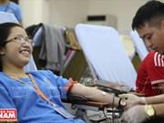 """Mua cau vong"", campaña de donación de sangre"