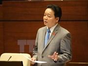 Ministro rinde cuentas ante Parlamente sobre varias cuestiones ambientales