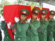 Vietnam y Sudcorea cooperan en búsqueda de restos de combatientes de guerra