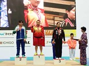 Vietnam cosechó 17 oros en el Campeonato Juvenil de Halterofilia de Asia