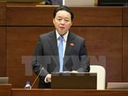 Ministro vietnamita aclara ante el Parlamento asuntos de interés del electorado