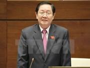 Trabajo del personal centra la interpelación al ministro de Interior ante Parlamento