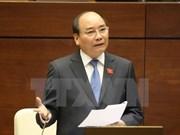 Premier de Vietnam comparece ante Parlamento sobre asuntos de interés público