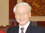 Secretario general del Partido Comunista de Vietnam realizará visita oficial a Laos
