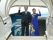 Presidente de Vietnam concluye visita a Cuba