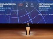 Ban Ki-moon envía mensaje al Congreso Mundial de Agencias Noticiosas