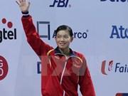 Nadadora de Vietnam gana oro con récord asiático