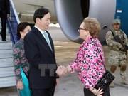 Presidente de Vietnam llega a Perú para la Cumbre de APEC