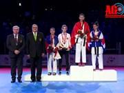 Vietnam gana medalla de oro en campeonato mundial de taekwondo