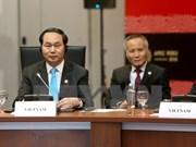 Presidente de Vietnam participa en actividades en Semana de Cumbre de APEC