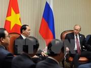 Presidente de Vietnam se reúne con líderes mundiales en Perú