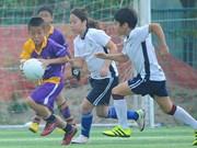 Torneo de fútbol tradicional de Irlanda en Hanoi