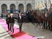 Vietnam e Italia acuerdan definir nuevas orientaciones de cooperación