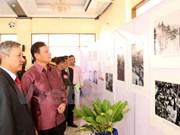 Exposición fotográfica sobre actividades diplomáticas de Ho Chi Minh