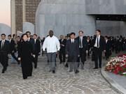 Delegación de Vietnam rinde tributo a Fidel Castro en Cuba