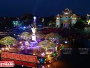 [Fotos] La Nochebuena en la catedral de piedra de Phat Diem