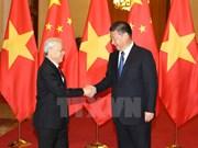 [Galería] Recibimiento en China a líder partidista de Vietnam