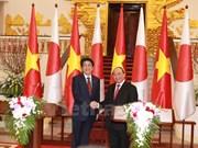 [Galería] Primer ministro de Japón visita Vietnam