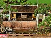 Miniatura de casa antigua del norte de Vietnam