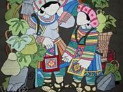 [Infografía] Los colores de las pinturas bordadas con lana