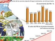 [Infografía] Vietnam registra lento crecimiento económico en primer trimestre de 2017