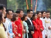Boda colectiva de 40 parejas en Hanoi