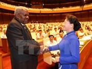 Robustecen cooperación entre parlamentos de Vietnam y Cuba