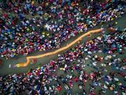 [Fotos] Imagen del festival de pagoda Ba en la provincia vietnamita de Binh Duong en lista de mejores fotos