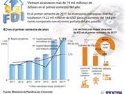 Inversiones extranjeras directas alcanzan más de 19 mil millones de dólares