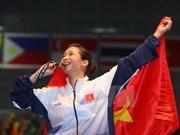Los medallistas de oro de Vietnam en SEA Games 29