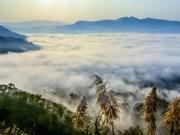 Mar de nubes en el paso Tang Quai