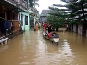 Localidades centrovietnamitas se inundan seriamente tras tifón Damrey