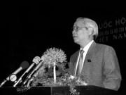 El extinto premier vietnamita Vo Van Kiet, un dirigente con visión estratégica