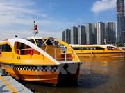 [Fotos] Entran en servicio primera ruta de autobús fluvial en Ciudad Ho Chi Minh