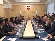 [Fotos] Vietnam y Rusia fortalecen cooperación partidista