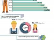 Aumenta número de trabajadores vietnamitas contratados para trabajar en el exterior