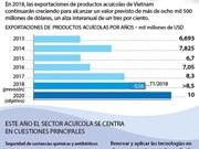 Vietnam aspira a una cifra récord de exportación de productos acuícolas en 2018