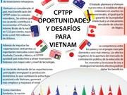 [Infografía] CPTPP: Oportunidades y desafíos para Vietnam