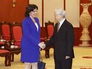 Embajadora cubana confía en relaciones con Vietnam