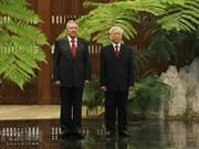 [Fotos] Secretario general del Partido Comunista de Vietnam se reúne con Rául Castro