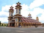 [Fotos] La Santa Sede de la secta Cao Dai, destino turístico en Tay Ninh