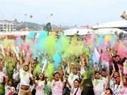 [Fotos] Miles de personas participan en colorida carrera a favor de las víctimas del Agente Naranja