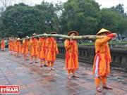 [Fotos] Rituales reales en la antigua capital imperial