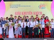 Entregan en Vietnam premios de información para el exterior
