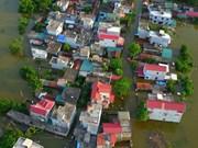 [Fotos] Comunas ribereñas de Hanoi sumergidas en agua