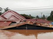 (Fotos) El colapso de presa hidroeléctrica en Laos