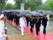 [Fotos] Rinden homenaje a héroes mártires de la Patria